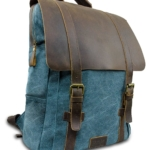 Laptop Rucksack Retro Next Blau