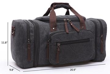 Aidonger Reisetasche Canvas