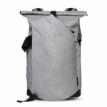Cai Laptop Rolltop Rucksack Light Grey
