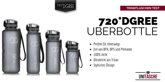 """720 DGREE Trinkflasche """"UberBottle"""" im Langzeit Test 1"""