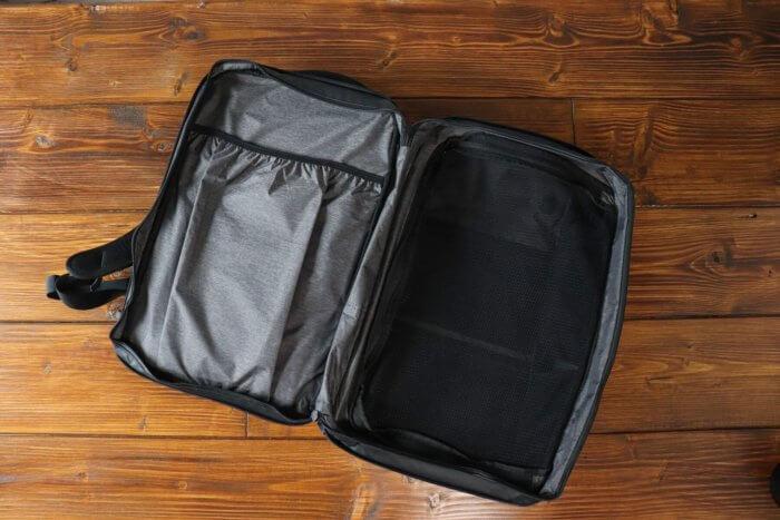 Nomatic Travel Pack - Erweiterung mit extra Fach