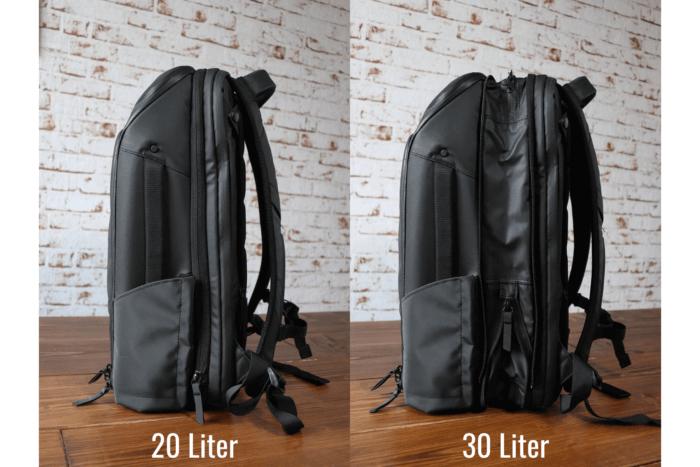 Nomatic Travel Pack erweiterbar